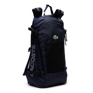 LACOSTE MATCH POINT NYLON TNS BACKPACK PEACOAT