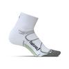 Elite Max Cushion Quarter Tennis Socks 3_WHITE/BLACK