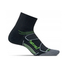 Elite Max Cushion Quarter Tennis Socks 4_BLACK/REFLECTOR