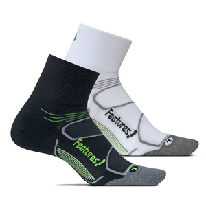 Elite Max Cushion Quarter Tennis Socks