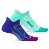 FEETURES Elite Max Cushion No Show Tab Tennis Socks