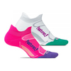 FEETURES Elite Light Cushion No Show Tab Tennis Socks