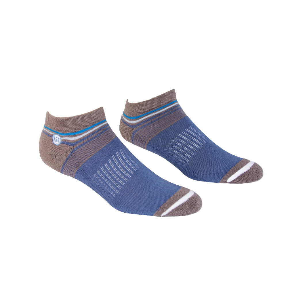 Men's Nom Noms Tennis Socks Dark Blue