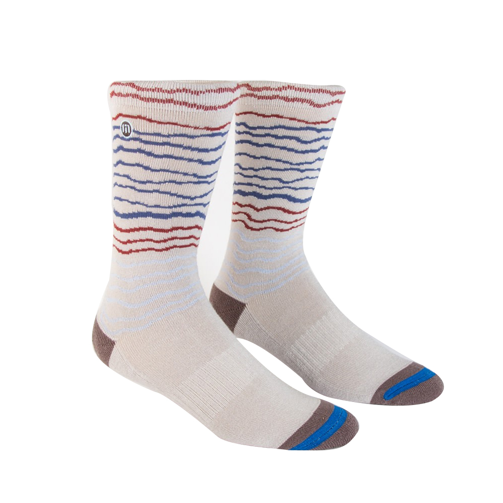 Men's Panky Tennis Socks Heather Microchip