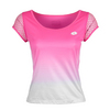 Women`s Kaylee Tennis Tee R6977_FLUO_GLOSS/WH
