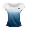 Women`s Kaylee Tennis Tee R6978_WH/BLUE_COSMO
