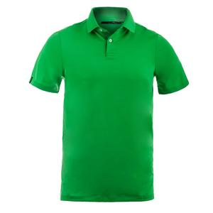 Men`s Solid Airflow Knit Polo