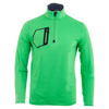 Men`s Brushed Back Tech Jersey 1/2 Zip Top 002_BARBADOS_GREEN