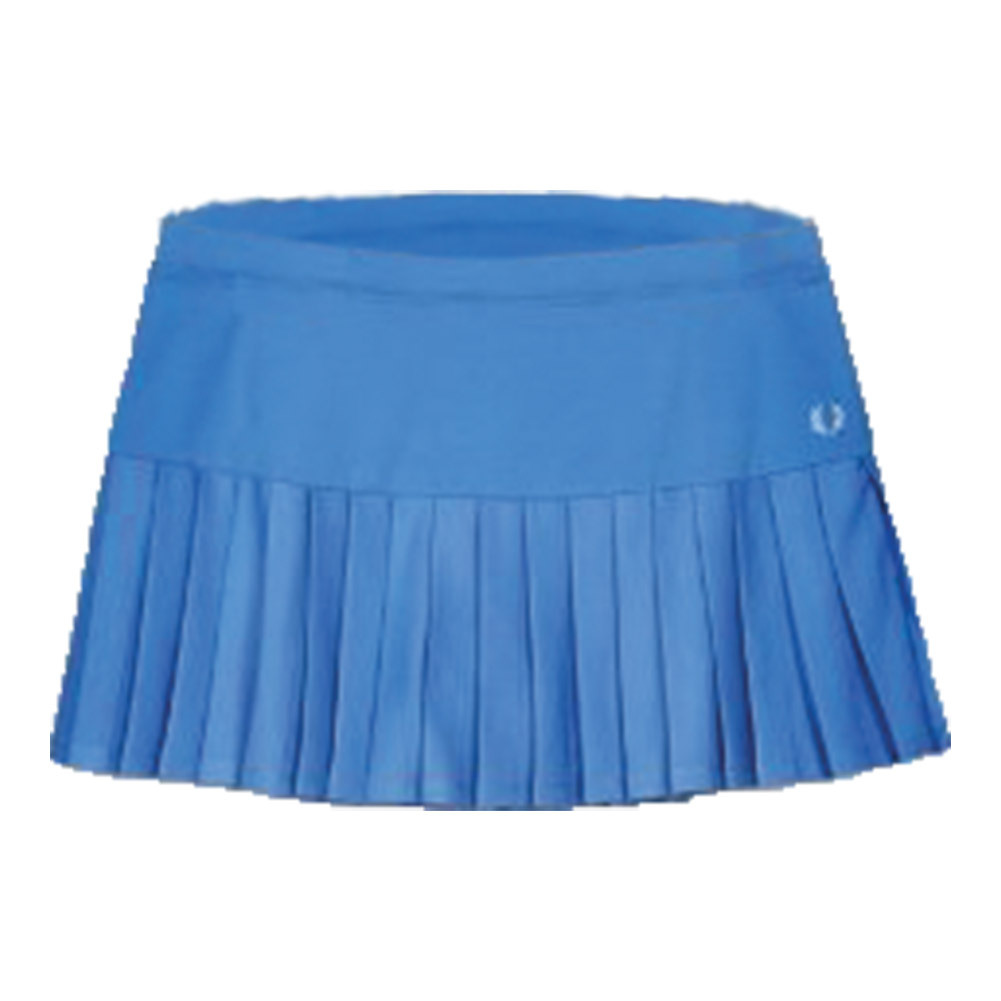 Women's Pleated Tennis Ball Skort Vibrant Blue