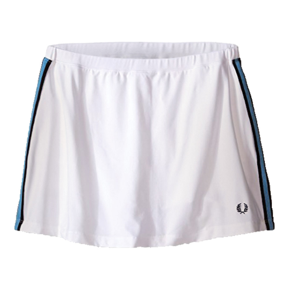 Women's A- Line Ball Tennis Skort White