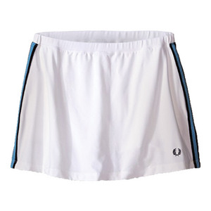 Women`s A-Line Ball Tennis Skort White