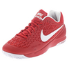 NIKE Men`s Zoom Cage 2 Tennis Shoes University Red and White