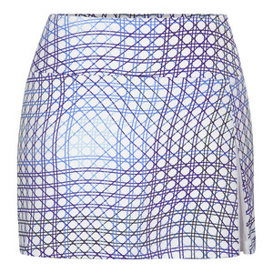Women`s Olinda 13.5 Inch Tennis Skort Volley Print