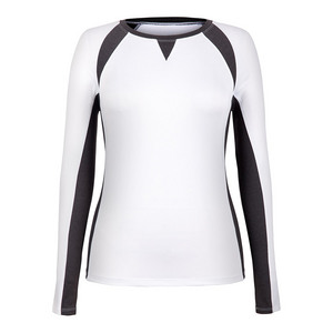 Women`s Reba Long Sleeve Tennis Top White
