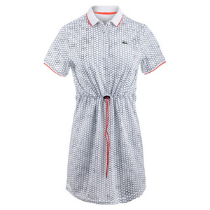 Women`s Geo Printed Technical Tennis Polo Dress