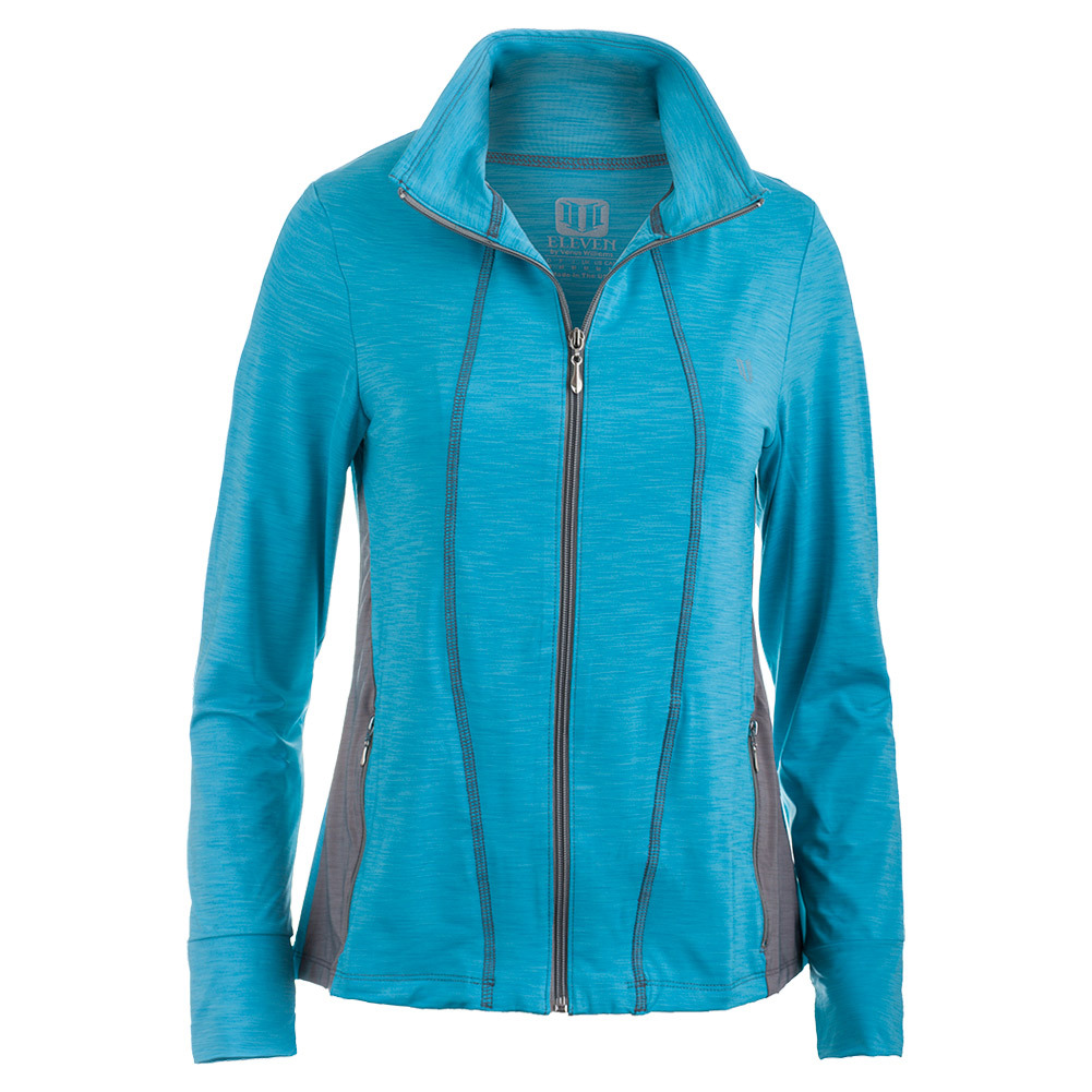 Women's Love Tennis Jacket Robin Blue