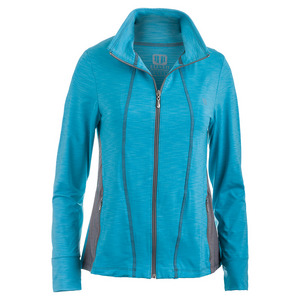Women`s Love Tennis Jacket Robin Blue