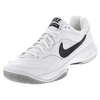 NIKE Men`s Court Lite Tennis Shoes White and Medium Gray