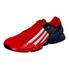 ADIDAS Men`s Adizero Ubersonic G Dub Tennis Shoes Vivid Red and Off White