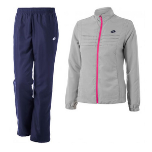 Women`s Kaylee Tennis Suit Pearl and Blue Cosmo