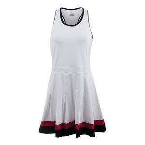 FILA WOMENS HERITAGE RCR BK TNS DRESS WH/BK