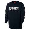 Men`s Court Long Sleeve Tennis Crew 010_BLACK