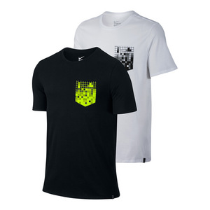 Men`s Court Pixel Pocket Tennis Tee