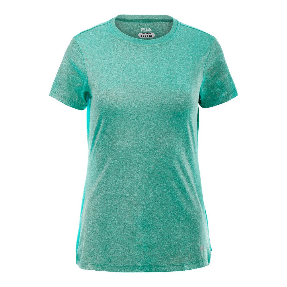 Women's Heather Crew Neck Tee