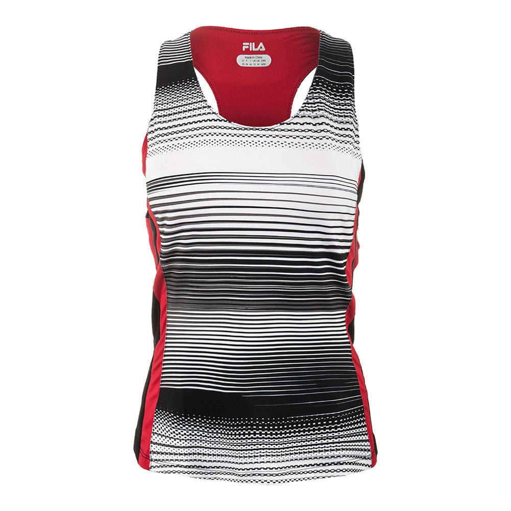 Women's Heritage Racer Back Tennis Tank Stripe