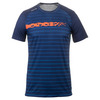 Men`s Hex Stripe Dimension Tennis Crew 204_BLUE_DEPTHS