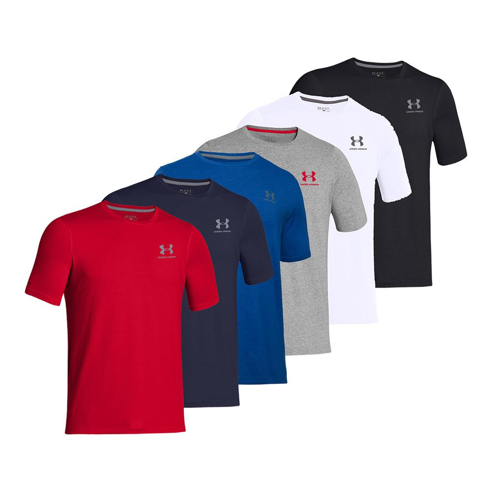 Men's Short Sleeve Tennis Tee