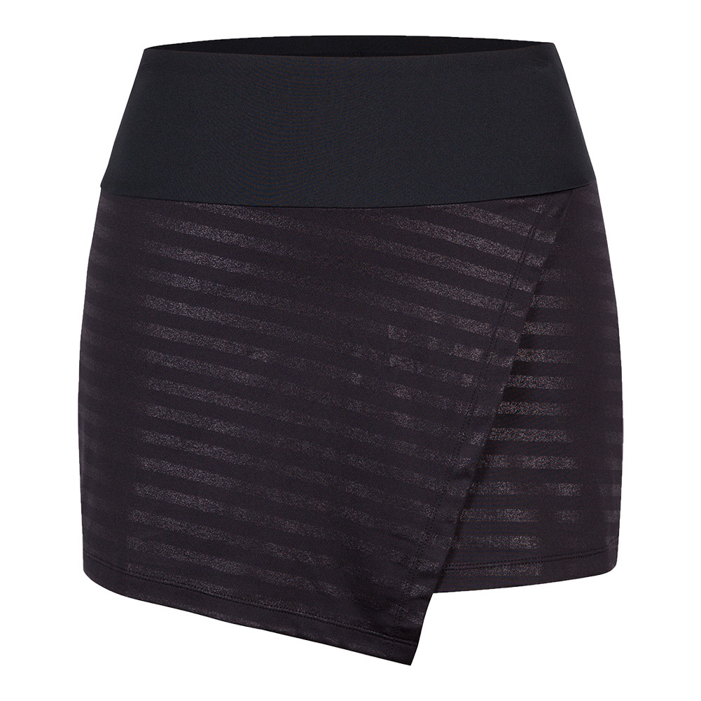 Women's Jay 13.5 Inch Tennis Skort Metallic Stripe
