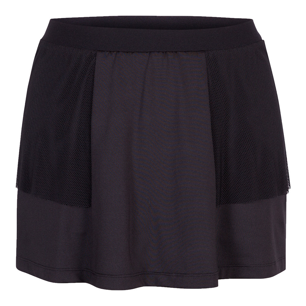 Women's Delsie 13.5 Inch Tennis Skort Black