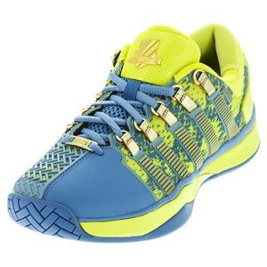Women`s Hypercourt 50th Tennis Shoes Ultramarine and Sulphur Spring