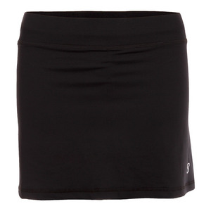 Women`s 14 Inch Tennis Skort Black