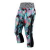 Women`s Printed Capri Inkblot Floral by ASICS