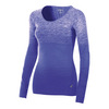 Women`s Seamless Long Sleeve Top 4343_ROYAL_BLUE