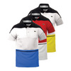 LACOSTE Men`s T2 Color Block Ultradry Tennis Polo