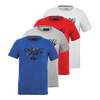 LACOSTE Men`s Sport Technical Jersey Paint Splash Tee