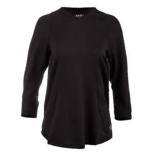 Women`s Verve V-Neck Fitness Top Black