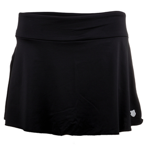 K-SWISS WOMENS DEUCE TENNIS SKIRT BLACK