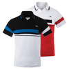Men`s T2 Engineered Ultradry Color Block Tennis Polo by LACOSTE