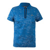 Men`s T1 Printed Ultradry with Zipper Placket Tennis Polo S6B_INK/WHITE