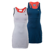 LACOSTE Women`s Sleeveless Mesh Layer Racerback Tennis Dress