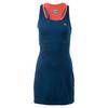 Women`s Sleeveless Mesh Layer Racerback Tennis Dress NNA_RAFFIA_MATTING