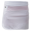 LACOSTE Women`s Technical Jersey Color Block 13.5 Inch Tennis Skirt