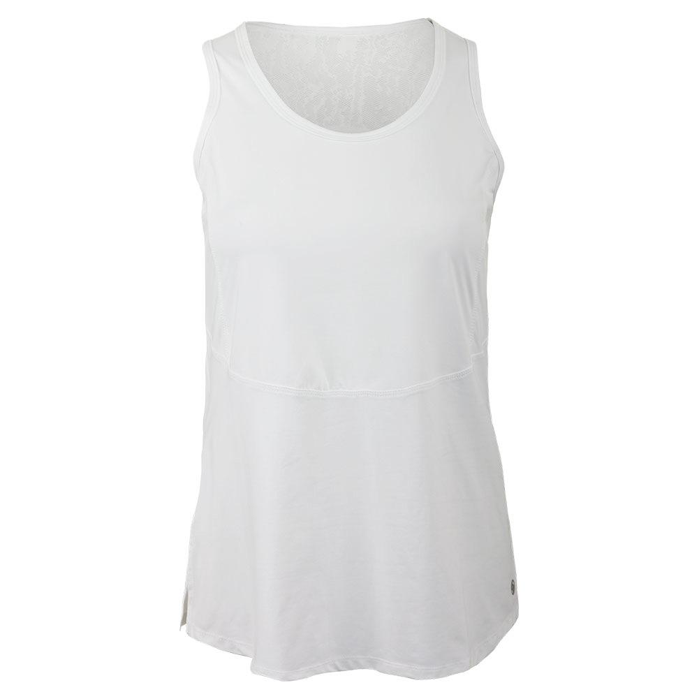 Women's Shake Up Tennis Tank White