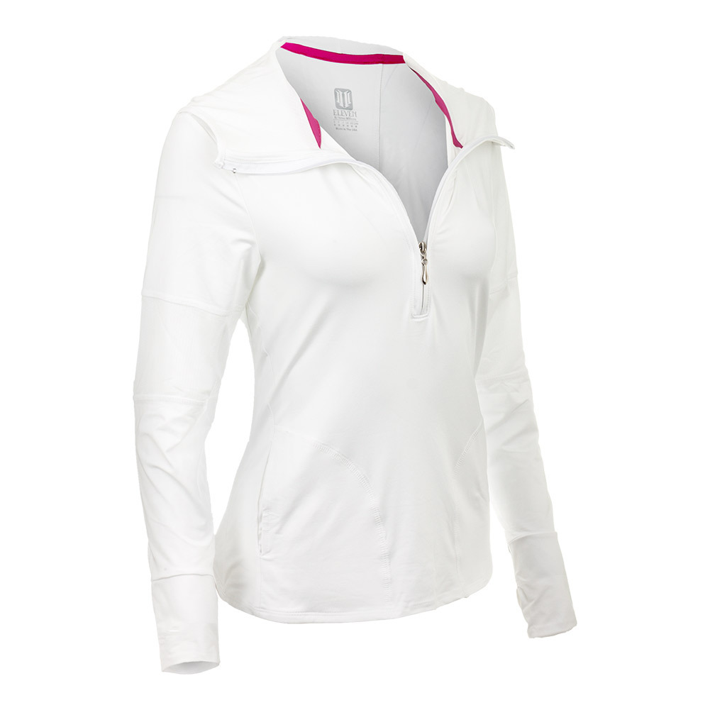Women's In The Zone Tennis Hoodie White