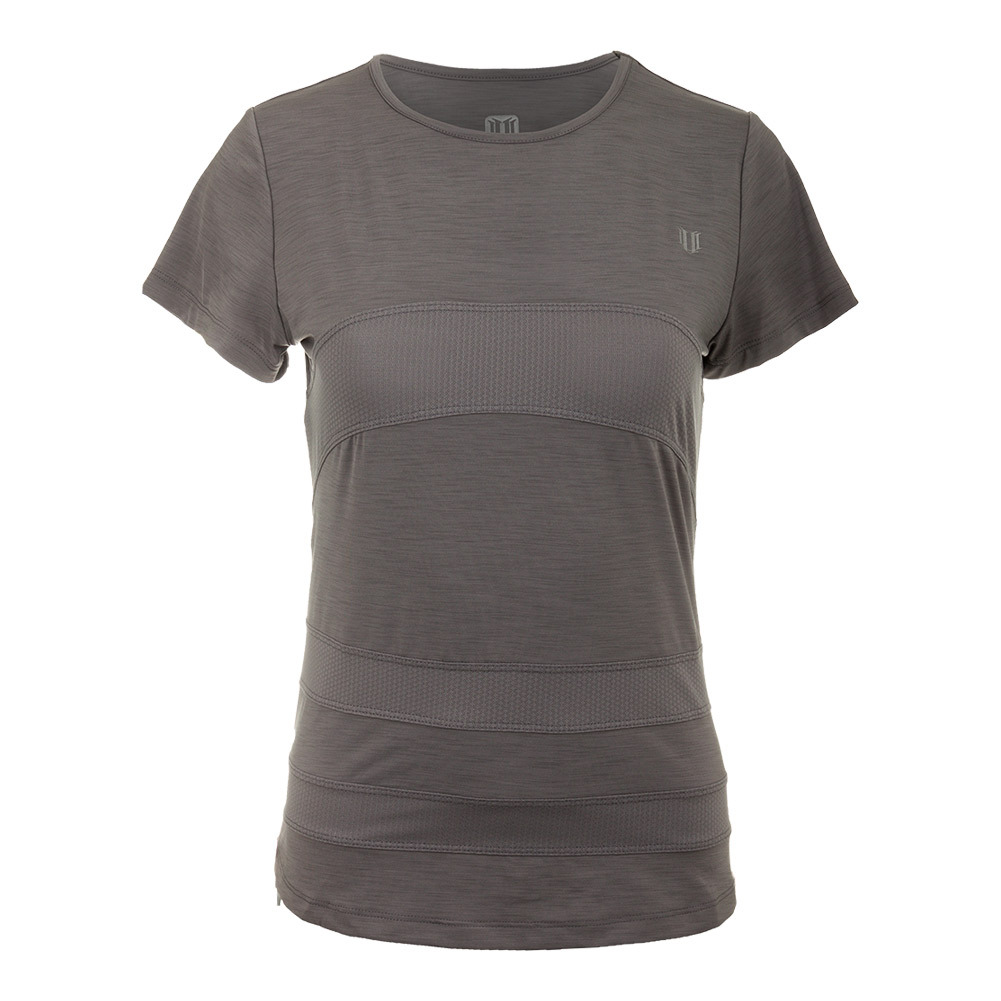 Women's Condition Tennis Tee Frost Gray