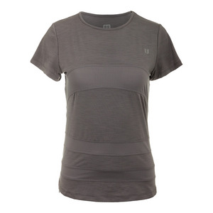 ELEVEN WOMENS CONDITION TENNIS TEE FROST GRAY
